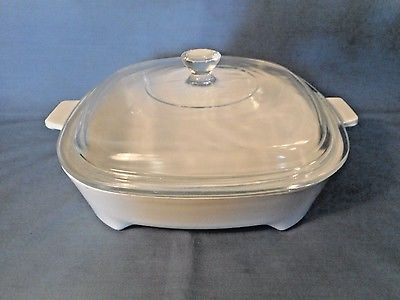 Corning Ware MicroMate Microwave Browning Dish MW-9 With Lid 8