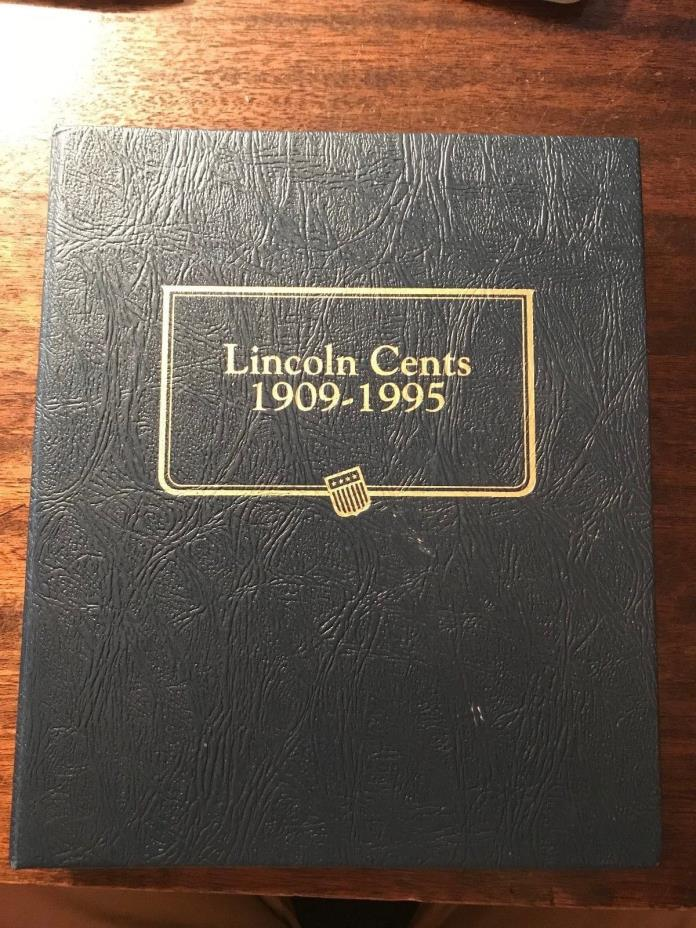 Lincoln Cents 1909 - 1995 Penny Book Includes Proof Coins