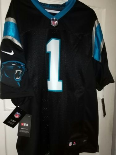 CAM NEWTON   CAROLINA PANTHERS ON THE FIELD GAME JERSEY  LARGE  NIKE .COM