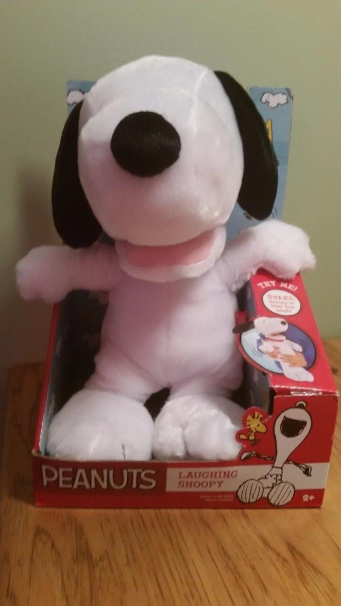 Peanuts Laughing Snoopy Plush Toy 11