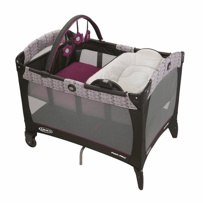 Graco Pack n Play Baby Playard Go Green Pac and Play Bassinet Pack and Go