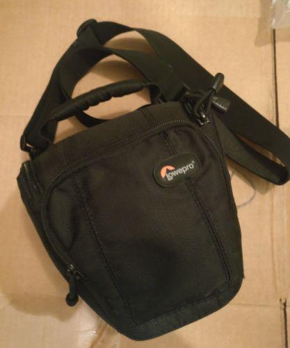 Lowepro Toploader Zoom 45 AW Camera Lens Bag ~ Black