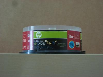 HP LightScribe Recordable DVD-R disc 16x 4.7GB v1.2 *New Opened Pack* 19-Discs