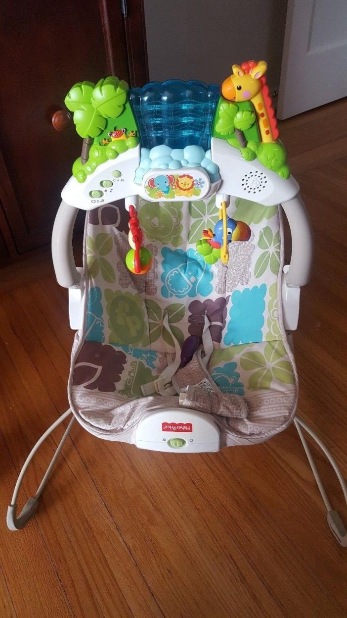 Fisher Price Bouncer & Vibrating Chair
