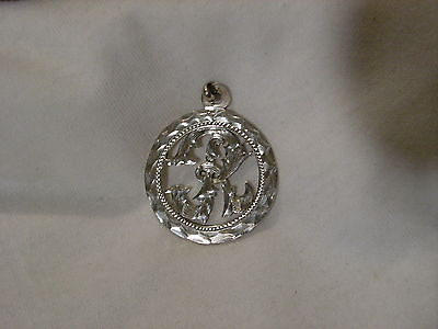 ...Sterling Silver Fancy Engraved Initial