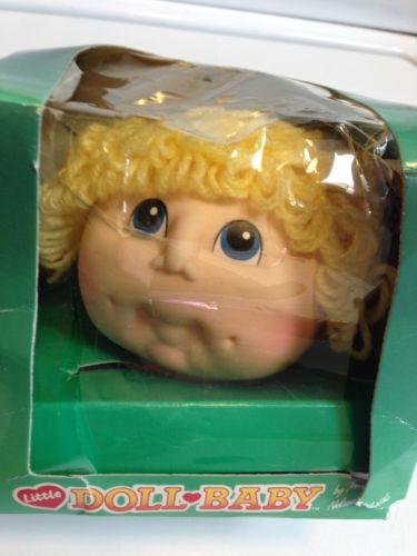 Vintage 1985 Little Doll Baby Martha Nelson Thomas Short Blonde Doll Head 3176
