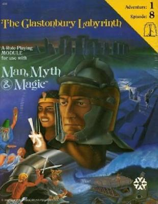 The Glastonbury Labyrinth softcover module (Man, Myth, & Magic Played