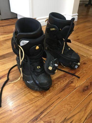 Burton Ruler SI Snowboard Boots Black Men's US Size 7