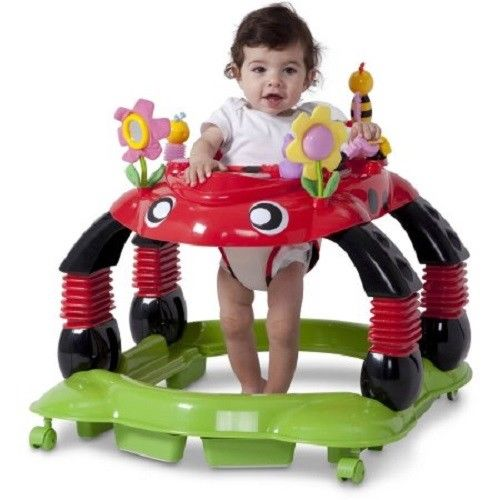 Baby Bouncer Walker Seat Rotation Chair Stand Play Toy Station Activity Infant