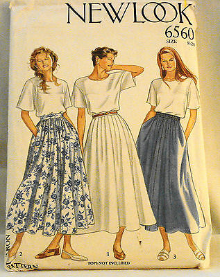 VTG 6560 New Look Dress Pattern Size 8-20 New