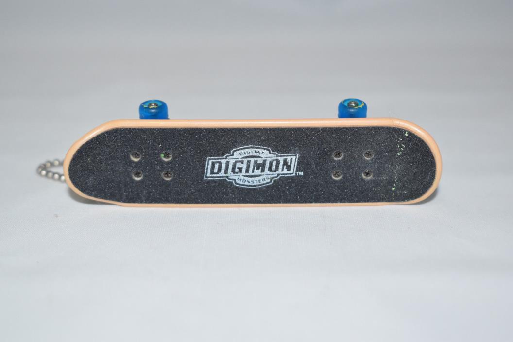 Digimon dx Mini Skateboard Fingerboard Lillymon Series 1 Bandai #1286 Keychain