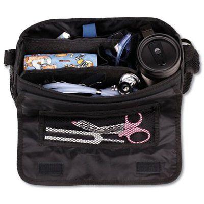 Medical Supplies Bag Nurse Travel Nursing For Medic Kit Tote Organizer Black
