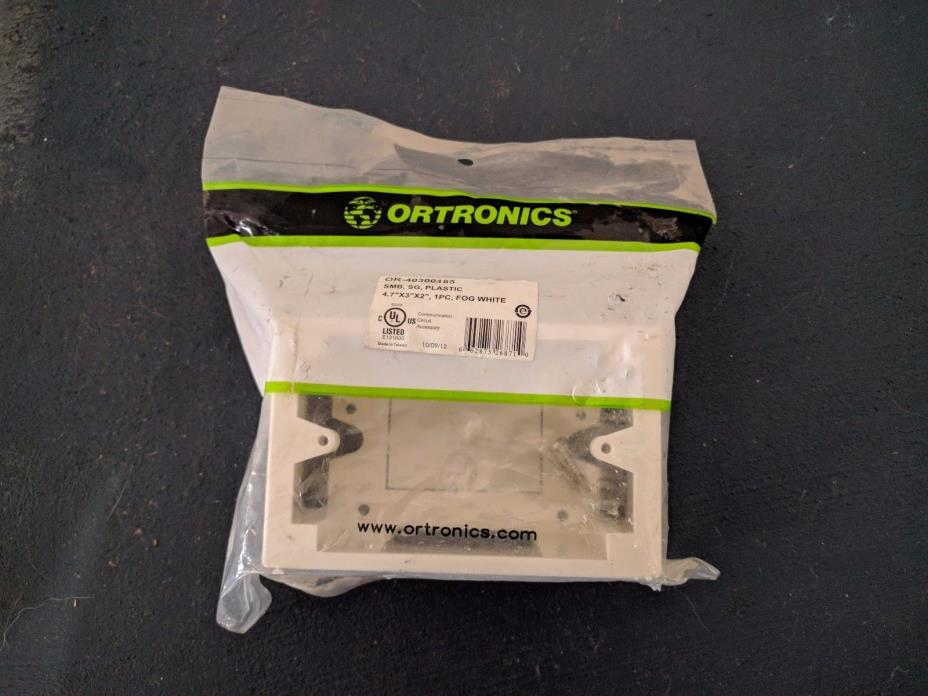 Ortronics Fog White Surface Mount Box OR-40300185