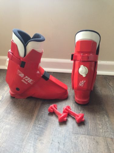 Nordica ns 725 Ski Boots - Size 8 / Mondo 26 / 308 mm Red