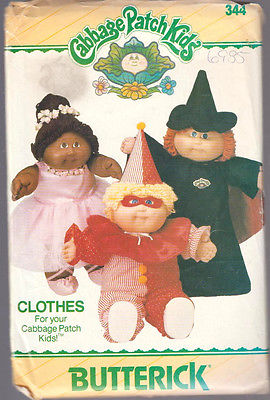 Cabbage Patch Kids  Halloween Costumes   Doll   Clothes Sewing  Pattern