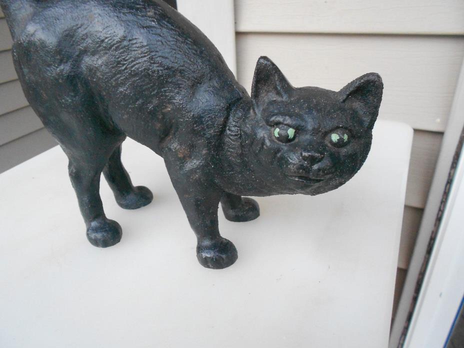 VINTAGE CAST IRON CAT