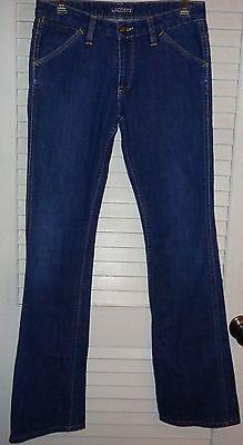 Lacoste Jeans size 28 pocket embroidered L@@K!