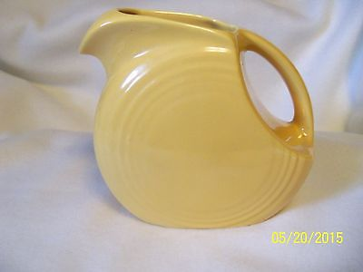 VINTAGE FIESTA MEDIUM JUICE PITCHER - YELLLOW