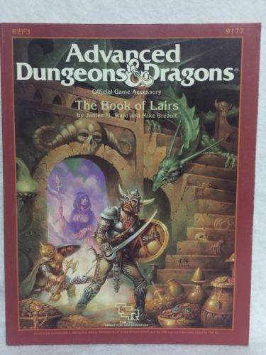 AD&D Advanced Dungeons & Dragons Module REF3 The Book of Lairs TSR 9177