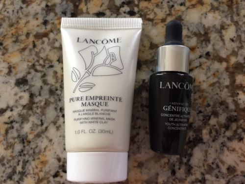 NEW - Lancôme Set of 2 - Mineral Masque & Genifique Concentrate - US SELLER