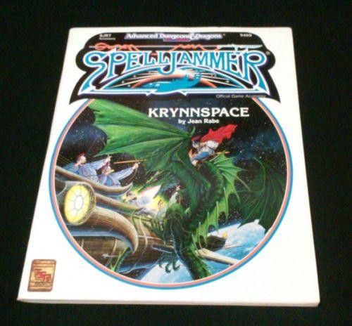 NEW Advanced Dungeons & Dragons Spelljammer Krynnspace TSR RPG Bagged Very Fine
