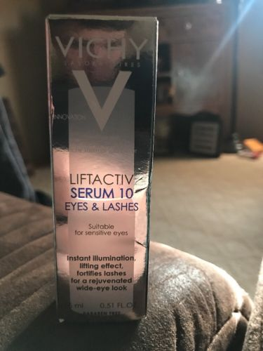 Vichy LiftActiv Serum 10 EYES & LASHES Expires 10/2018 New Free Shipping