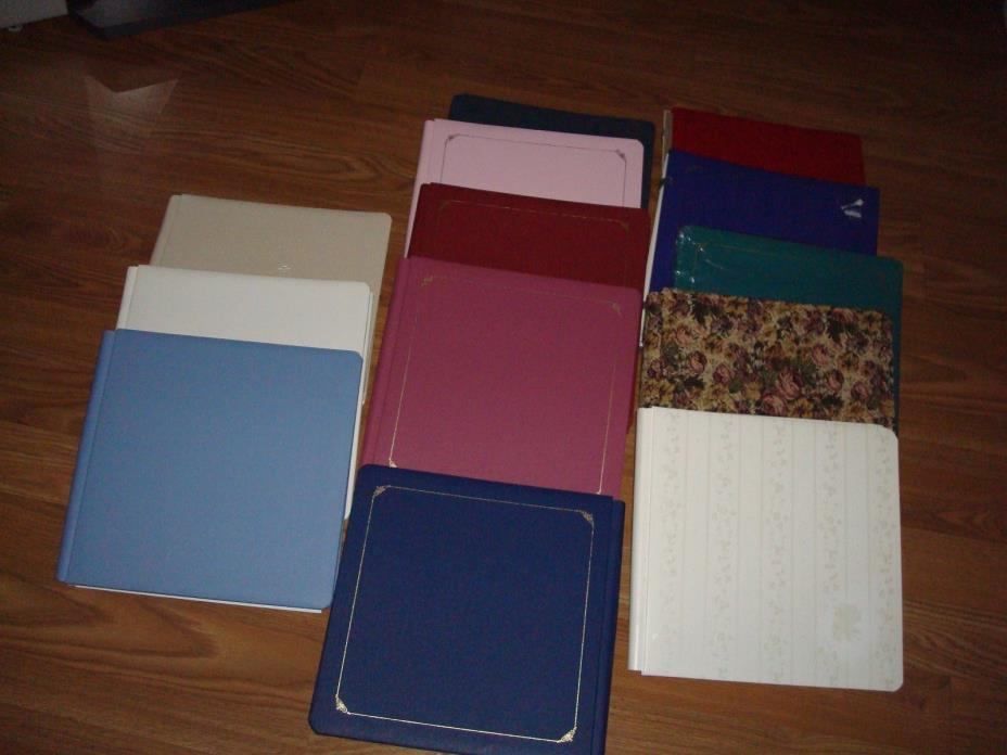 Creative Memories 12 X 12 Scrapbook Album - Lot - You Pick