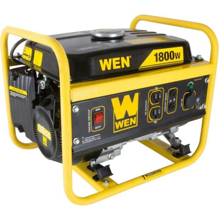 WEN 1800-Watt Generator, CARB Compliant Emergency Power Gas Powered