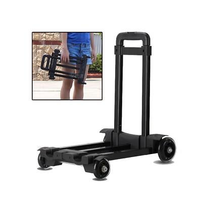 Portable Mini Travel Luggage Cart Folding Hand Carts Trolley Small Car Towers 4