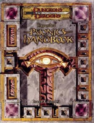 Expanded Psionics Handbook hardcover supplement (d20 D&D 3.5) Played RPG
