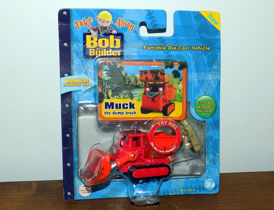Bob the Builder Diecast Take Along MUCK Dump Truck Vehicle Toy  Special Edition!
