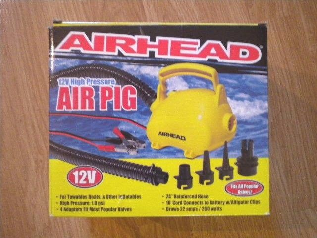 AIRHEAD Air Pig Pump - 12V AHP-12AP - NEW IN BOX! **ONE AT THIS PRICE!