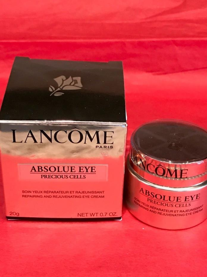 LANCOME WOMENS ABSOLUE EYE PRECIOUS CELLS REPAIRING & REJUVENATING CREAM/NIB