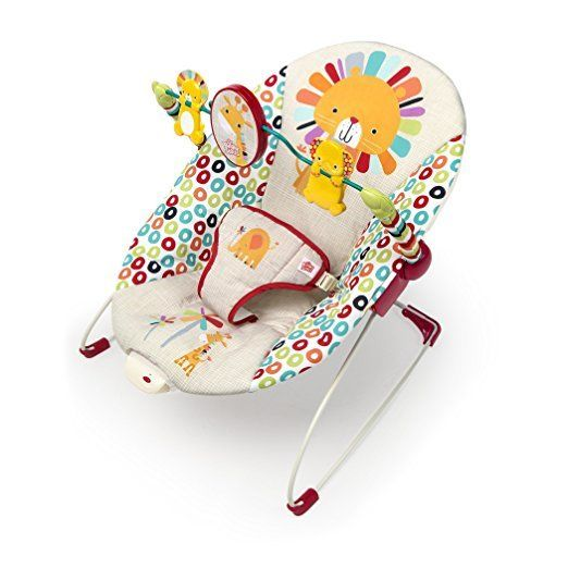 Bright Starts Infant playful pinwheels bouncer seat baby chair sleeper swing toy