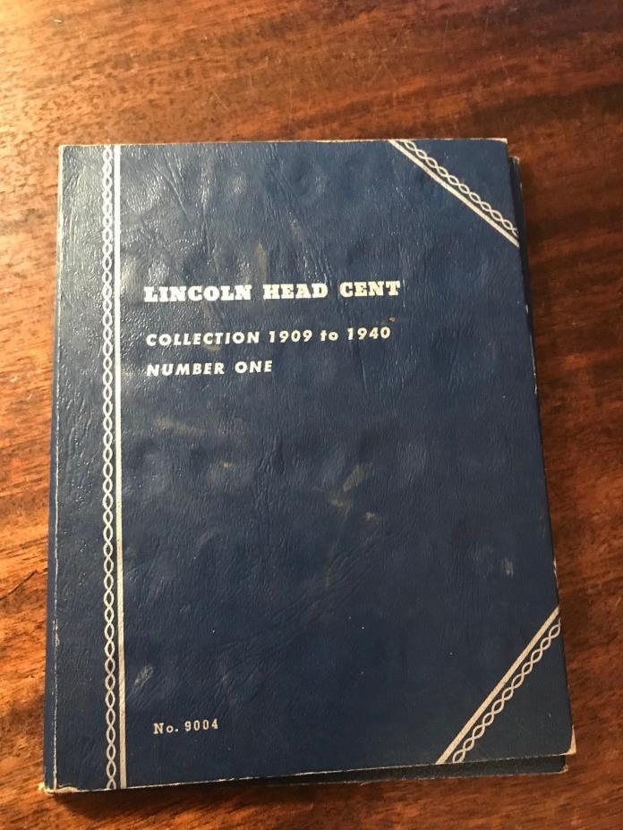 Lincoln Cents 1909 - 1940 Penny Book
