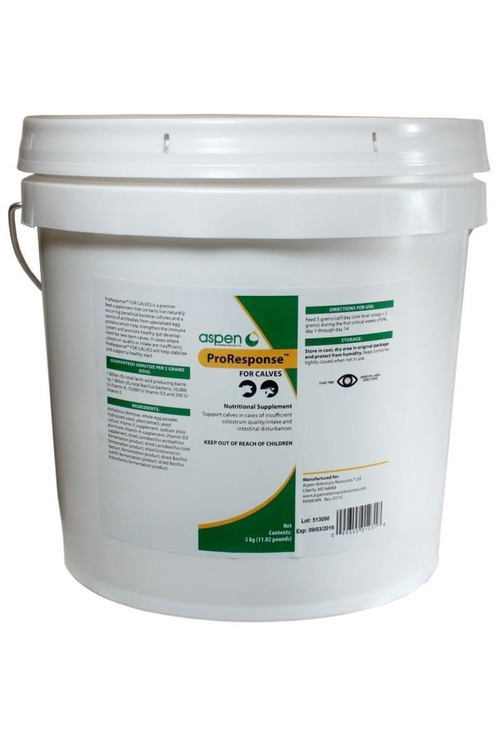 ProResponse for Calves 5 KG Feed Supplement Livestock Supply Immune System