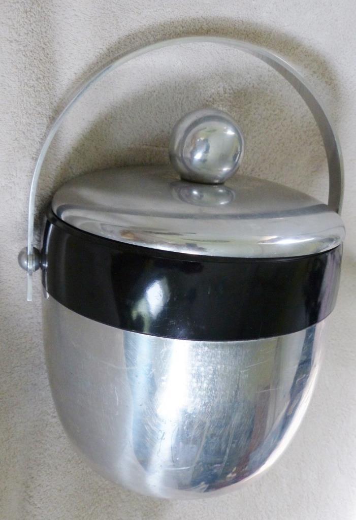 Vintage Kromex Metal Ice Bucket