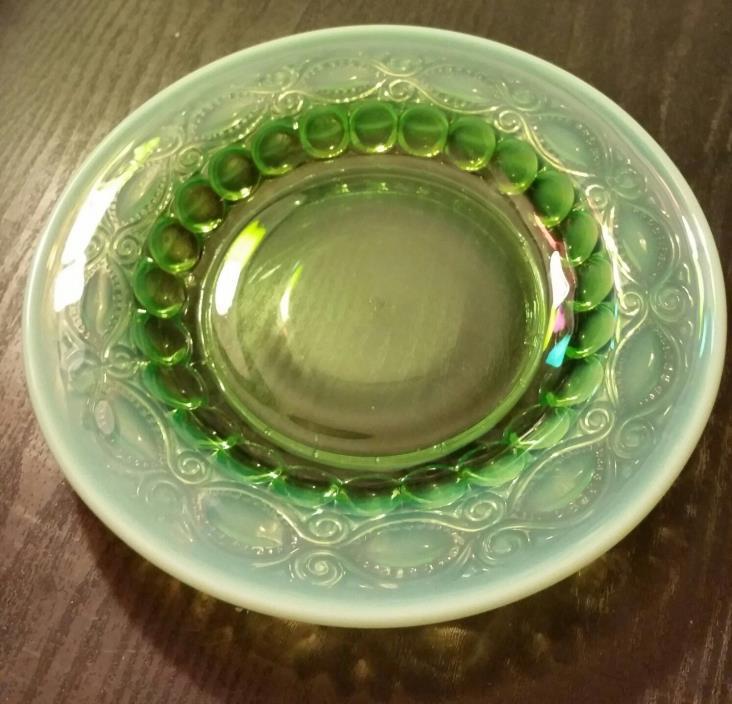 Green Opalescent Glassware  8