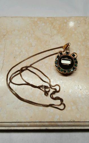Lanton Quartz Watch On Chain
