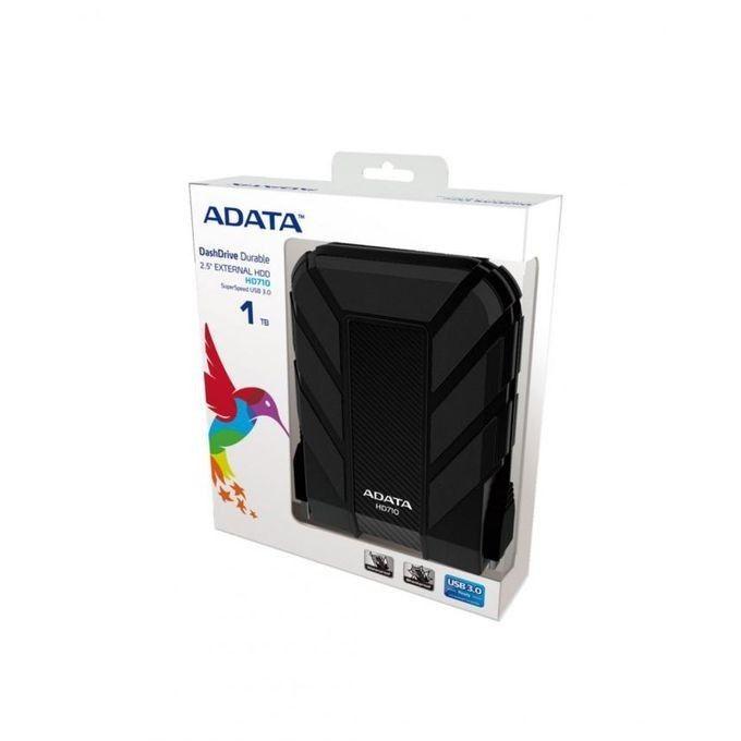 ADATA 1TB  External Portable Hard Drive HD710 USB 3.0 Hard Drive (BLACK)