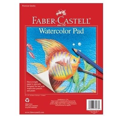 Faber-Castell Watercolor Art Pad - 9