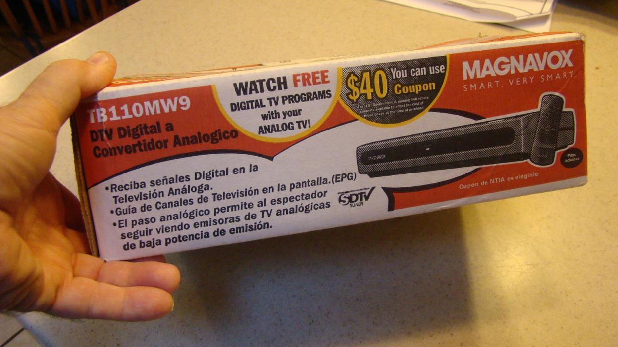 magnavox digital to analog converter for sale classifieds rca digital tv converter box remote manual rca digital tv converter user manual