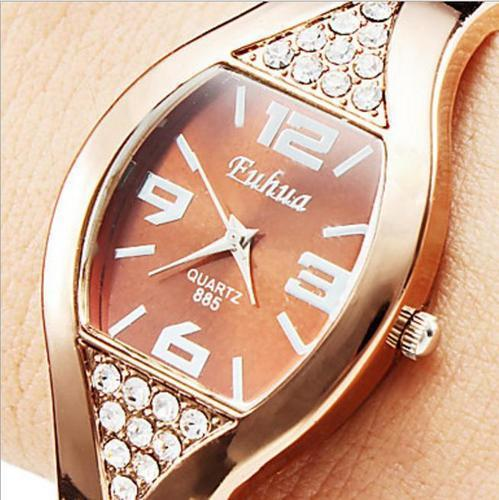 Vintage Tonneau Women Bangle watch