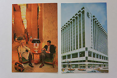 Postcard 2 Hotel Regal Meridien Hong Kong Building & Lobby Unposted