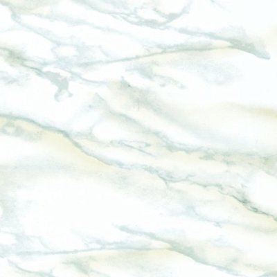 White Marble Contact Paper Decorative Adhesive Shelf Liner Ft