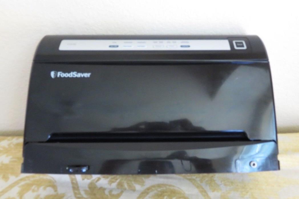 FOODSAVER V3440 Vacuum Sealer Food Saver Black GUC ~ Tested