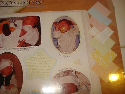 CREATIVE MEMORIES SOFT TOUCH BABY PAPER PACK NIP
