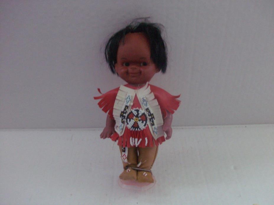 vintage indian eskimo doll 10