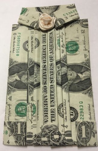 Dollar Bill Blouse- Made With Five Real Dollar Bills