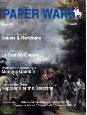 Issue 58 of Paper Wars Magazine (Omega games) New